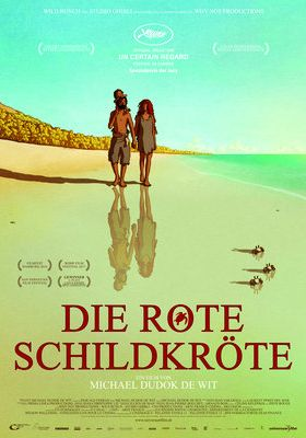 Filmposter 'La tortue rouge - The Red Turtle: Die rote Schildkröte'