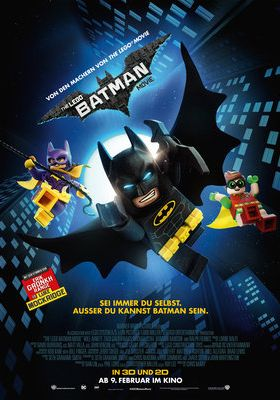 Filmposter 'The Lego Batman Movie'