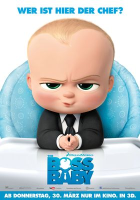 Filmposter 'The Boss Baby'