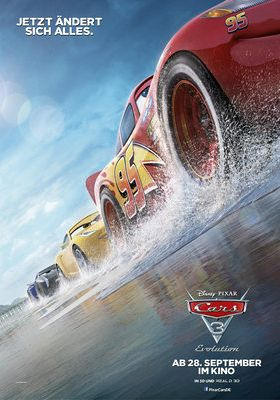 Filmposter 'Cars III'