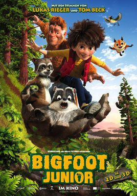 Filmposter 'Bigfoot Junior'