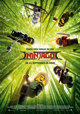 Filmposter 'The Lego Ninjago Movie'