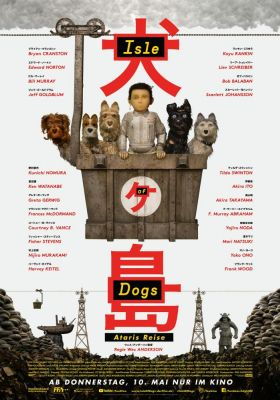 Filmposter 'Isle of Dogs'