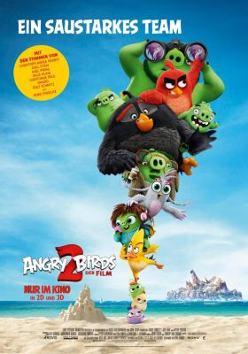 Filmposter 'Angry Birds 2: Der Film'