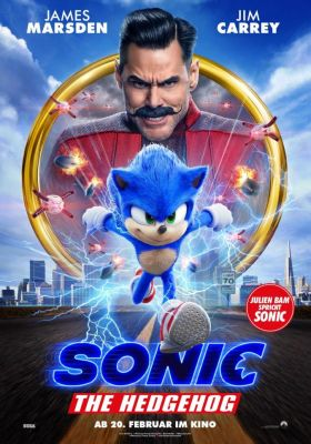 Filmposter 'Sonic the Hedgehog '