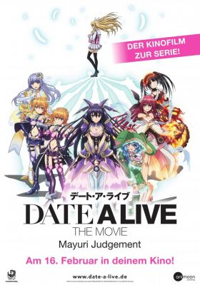 Filmposter 'Date a Live - The Movie: Mayuri Judgement'